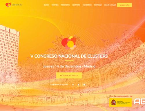 Organizamos el V Congreso Nacional de Clusters