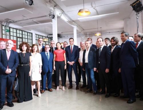 Los Clusters trasladan a Pedro Sánchez y Reyes Maroto las necesidades y oportunidades de la innovación colaborativa