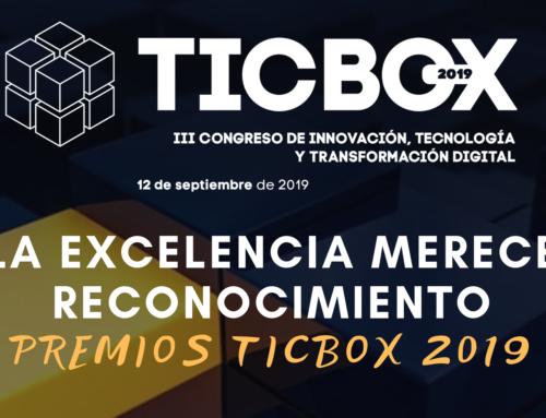¡Ya están aquí los Premios TICBOX 2019!