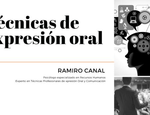 Aprende 'Técnicas de expresión oral' con Ramiro Canal