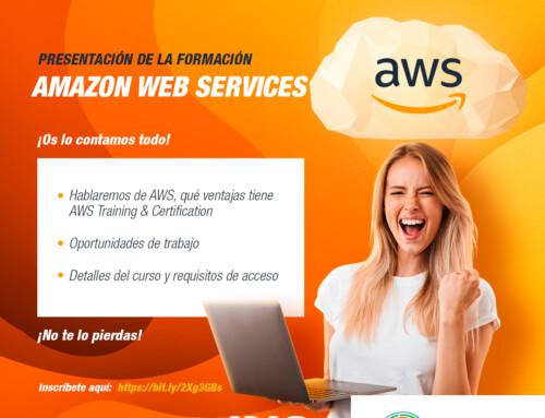 El jueves 28 de mayo el Cluster IDiA presenta oficialmente la formación de Amazon Web Services