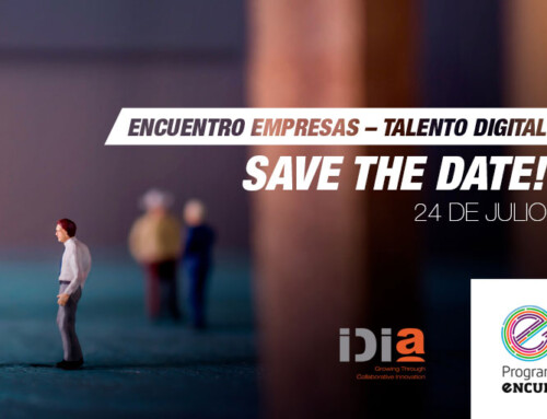 SAVE THE DATE! 'Encuentro empresas – Talento Digital'