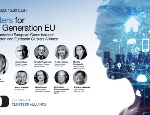 IDiA se reune con el comisario europeo Thierry Breton quien afirma que los clusters son necesarios en los planes de recuperación de la Unión Europea