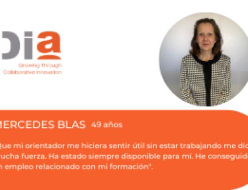 Historias de éxito del programa de desarrollo de talento PIMEI Ocupados: Mercedes Blas Sanz