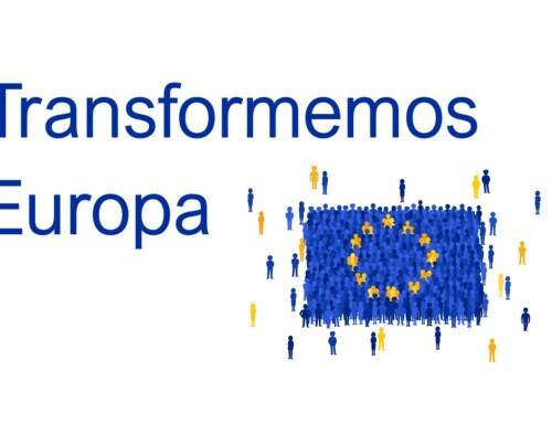 Transformemos Europa: el cluster IDiA realiza actividades para fomentar el debate sobre la Unión Europea