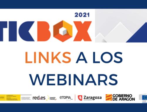 Amplia tus conocimientos ¡únete a los webinars TICBOX 2021!